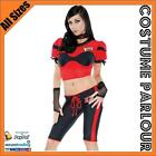 Womens NFL Football Gridiron Sports Fancy Dress Ladies Costume Sizes 8 to 12