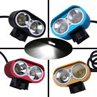 UniqueFire XM-L2 LED Waterproof Bicycle Lamp Bike Head & Rear light SET E0