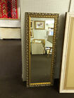 "NEW LONG 3""(75MM)  GOLD SHABBY CHIC STYLE LONG & FULL LENGTH DRESSING MIRROR"