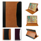 """Folio Real Genuine Leather Case Smart Cover Stand For iPad Pro 12.9"""" Auto Sleep"""