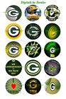 "GREEN BAY PACKERS 1 "" CIRCLES  BOTTLE CAP IMAGES. $2.45-$5.50 FREE SHIPPING $5.5 USD on eBay"