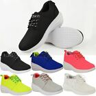 WOMENS LADIES TRAINERS LACE UP FASHION SPORT PUMPS CONCEALED WEDGE HEEL GYM SIZE