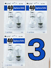 4—6 pcs Appliance Light Bulbs Refrigerator Freezer Oven Microwave Fridge A15 40W фото