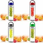 700ML Fruit Fuzer Infusion Infusing Infuser Water Bottle Sports Health Maker