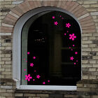 61 MOTHER'S DAY FLOWERS AND HEARTS Decorative Shop Window Stickers (MD12)