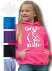 HORSE RIDING hoodie Equestrian t-shirt KIDS & ADULT`S HOODIE BORN TO RIDE HORSE