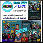 AVENGERS MARVEL SUPERHEROES PERSONALISED BIRTHDAY PARTY INVITATIONS - PACK OF 10