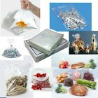 Clear Polythene Poly Plastic Bags All Sizes For Crafts Food
