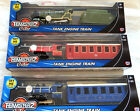 Teamsterz Steam Train Engine and Carriage Lights & Sound 1:55 Scale 3 Colours