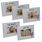 "Wendy Jones-Blackett MDF 6""x4"" Photo Frame Mum, Nan, Grandma, Mummy OR Nanna"