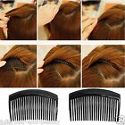 HAIR COMBS SLIDES WORK SCHOOL BLACK CLIPS SLIDES