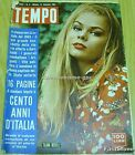 TEMPO Italian Mag. TAJNA BERILL Cover+Great Article 1961 ROYALTY SWEDEN THAILAND