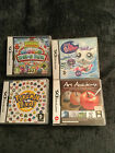 DS GAMES POKEMON,  LITTLEST PET SHOP,  MOSHLINGS, AND ART ACADEMY