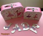 Personalised Decorative Bedroom Letters Wooden Name Plaque or Toy Box #29