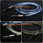 Upgrade Silver Plated HIFI Cable For Audio Technica ATH-M50x ATH-M40x Headphone