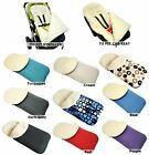 UNIVERSAL WOOL FOOTMUFF COSY TOES FIT CAR SEAT, BUGGY & ALL PUSCHAIR ACCESSORIES