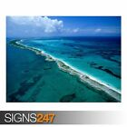 NEW PROVIDENCE ISLANDS (3315) Beach Poster - Photo Poster Print Art * All Sizes