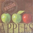 "KM5523 Fresh Apples Kathy Middlebrook 6""x6"" framed or unframed print art"