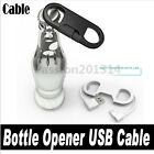 Portable Bottle Opener Keychain Charger Cable For iPhone5 5s 6 6s Phone