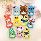 Beer Bottle Opener Kitchen Tool Fridge Magnet Cute Cartoon Charms Decorations UK