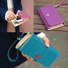 New Fashion Ladies PU Leather Purse Women's Wallets  Colors Long Design