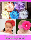 BABY GIRL INFANT LARGE FLOWER+DIAMOND hair headband