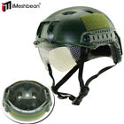 New Tactical Airsoft Paintball Military Protective SWAT Fast Helmet w/ GoggleHats & Headwear - 177892