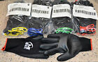6 Pairs Miracle grip gloves w/Touch Screen Technology & NeverSlip Gorilla