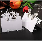 50X-100X White Place Name Cards Wedding Favors Table Decoration Romatic Supplies