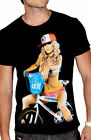 $22.99 NEW UNIT RIDERS MOTO SKYWAY MEN BLACK TEE T SHIRT MEDIUM code #30