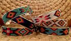Boho Native American inspired Southwestern Bracelets, beaded, Ethnic, Coachella