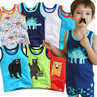 "Vaenait Baby Infants Underwear Kids Boys 100% Cotton Vest Tank ""Top Set "" 2T-8T"