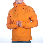 Mens Fjallraven High Coast Wind Seashell Orange Anorak Jacket