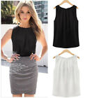 Sexy Ladies Women Summer Loose Sleeveless Casual Tank T-Shirt Blouse Tops Vest