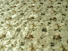 "DREAMS SILK EMBROIDERED `TILU` 54"" Wide BY METRE"