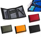 BLACK GREY BLUE GREEN ORANGE or RED Tri-Fold Ripper Wallet