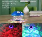 Waterproof Bath Bluetooth Speaker Color Changing Floating Light Swimming Pool