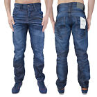 Mens Jack & Jones Jeans Designer Anti Fit Coated Regular Comfort Funky Denim New