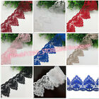 FP109 1 Yard Polyester Lace Trim Ribbon Embroidered DIY Sewing Craft Trimming