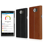 IMAK PU Leather Back Protective Skin Cover Case For Blackberry Priv 4G Venice