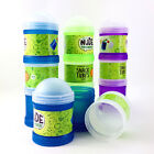 Multi Compartment Snack Lunch Box Container Tube Food Storage New