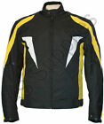 SCOTT-269 New Cordura Textile Biker Motorcycle Jacket - All sizes!
