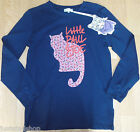 Paul & Joe girl Chaussette black top t-shirt 12-13-14 y BNWT new  designer cat