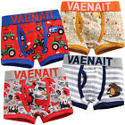 "NWT Vaenait Baby Kids Boxer Short Underwear Boy Pantie Set ""Boxer Cartoon"" 2T-7T"
