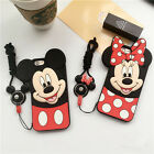 3D Cartoon Soft Silicone Phone Case Cover For Apple iPhone 6/6S 6 Plus/6S Plus