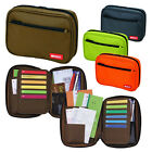 Lihit Lab Card Case A5 Size Book Style / Bankbook Receipts Case / Pen Case