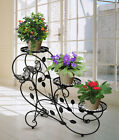 3 Tier Metal Plant Stand Flower Pot Display Shelf Garden Patio Home Decoration