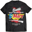9318 Shop Smart Shop S-Mart T-Shirt Army Of Darkness Evil Dead Horror Zombies