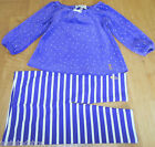 Juicy Couture baby girl velour top tunic & leggings 3-6 m NEW outfit designer