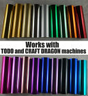 Todo Craft Dragon Hot Foil Machine Heat Go Press Foil 12cm x 10m 5 inch x 32ft